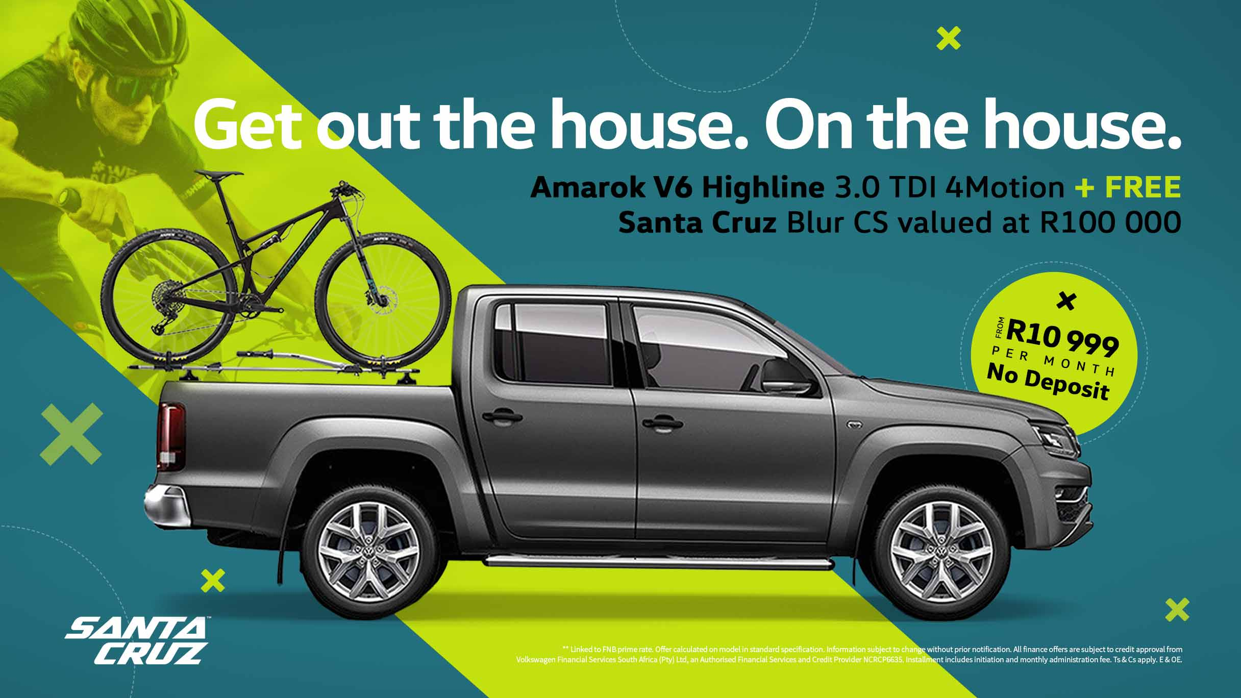 Barons Commercial Amarok V6 Highline special offer